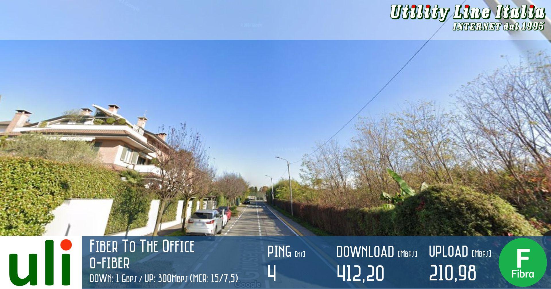 ULI   FTTO - Fiber To The Office a Cesano Maderno